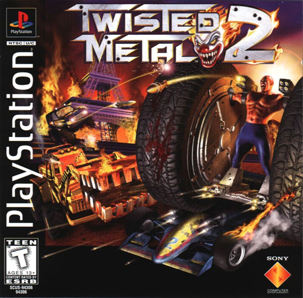 Twisted Metal 2 [U] Front Cover